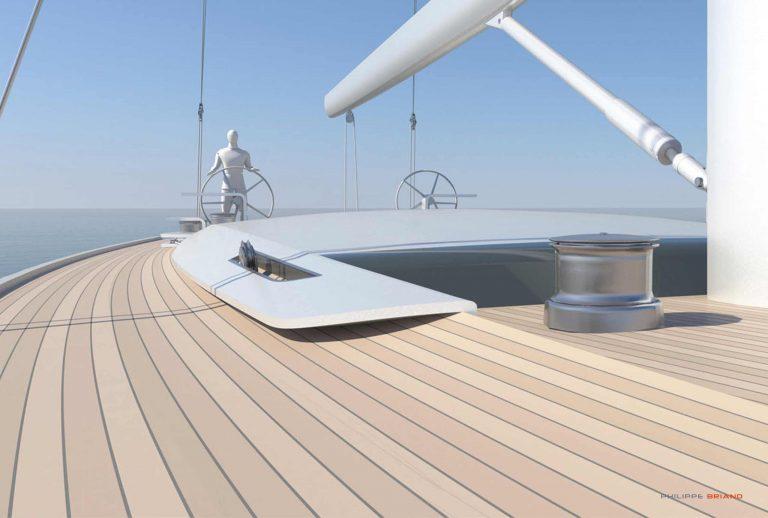Philippe Briand 98 30m Sailing Yacht