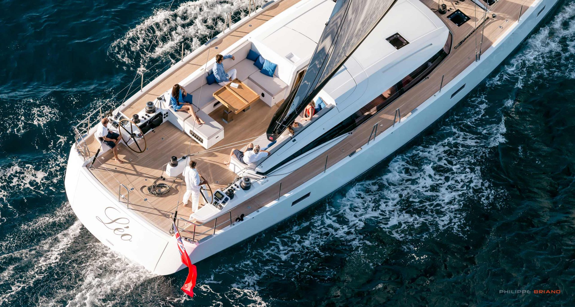 CNB sailing yacht by Philippe Briand