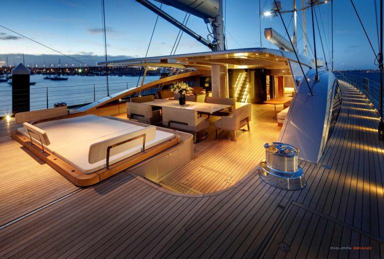 Philippe Briand Vertigo Sailing Yacht interior